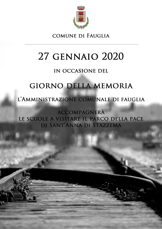 GIORNO DELLA MEMORIA: 27 GENNAIO. VISITA, CON LE SCUOLE, A SANT'ANNA DI STAZZEMA
