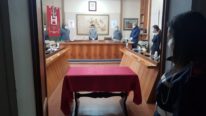 NEL CONSIGLIO COMUNALE DEL 28 MARZO SI RICORDANO LE VITTIME DEL CORONAVIRUS