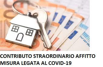 MISURA STRAORDINARIA LEGATA AL COVID-19 IN AIUTO AL PAGAMENTO DELL'AFFITTO. DOMANDE ENTRO L'8 MAGGIO 2020